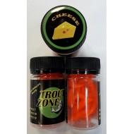 "Мягкая приманка Trout Zone Boll 2,9"" Orange"